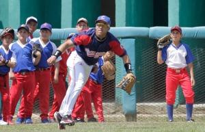 ¿Cuánto habrá sufrido el brazo Dayron Varona  en la competencia de tiro de potencia? (Foto: Ismael Francisco/Cubadebate)