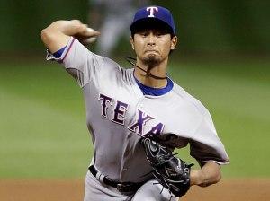 Darvish acarició el perfecto. (Foto: Pat Sullivan/AP)