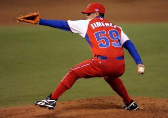 Ismel Jiménez, lanzador cubano