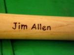 El nombre de Jim Allen. (Foto: Reynaldo Cruz)