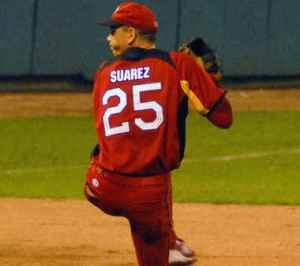 Suárez permitió dos hits. (Foto: AIN)