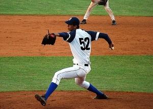 Yusmel Velázquez lanzó y ganó el tercer encuentro. (Foto: Reynaldo Cruz)