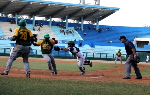 Pinar también venció a Holguín. (Foto: Reynaldo Cruz/UB)