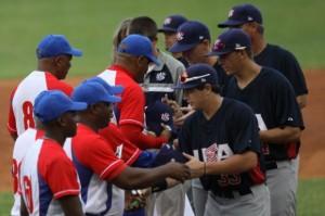 Cuba abrió delante en el tope. (Foto: Otmaro Rodríguez)