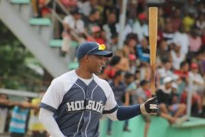 El holguinero Maikel Cáceres tuvo el mejor gWAr de los preseleccionados. (Foto: Reynaldo Cruz/UB)