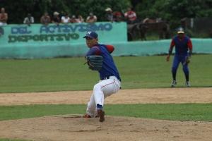 Pablo Millán Fernández en el ASG de la Serie Provincial. (Foto: Reynaldo Cruz/UB)