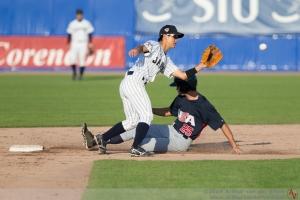 Además de los 12 hits, el USCT fue muy agresivo en el corrido de bases. (Foto: Arthur van der Velde)