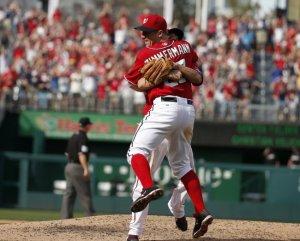 Jordan Zimmerman logró el primer no-no de los Nationals. (Foto: Alex Brandon/ AP)