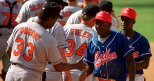 Los Baltimore Orioles y Cuba se vieron  las caras en 1999. (Foto: tomada de Cubadebate)