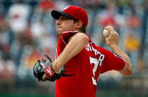 Max Scherzer lanzó no-hit-no-run y lleva dos blanqueadas consecutivas. (Foto: Alex Brandon/ AP)