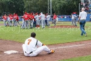 Escena a la inversa: Cuba derrota a Holanda en el WPT. (Foto: Rob Jelsma)