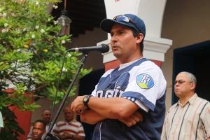 El mentor holguinero Noelvis González, debutante en esta SNB, intentará clasificar nuevamente a los Cachorros. (Foto: Reynaldo Cruz/ UB)
