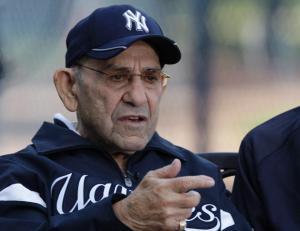 El inolvidable Yogi Berra aparece en el perfil. (Foto: NY Daily News)