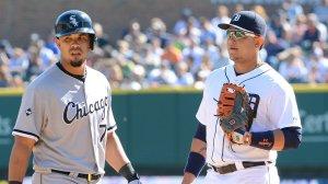 José Dariel Abreu (izquierda( y Miguel Cabrera estarán entre los visitantes. (Foto: MLB.com)