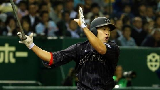 OF-Yuki Yanagita (Fukuoka Softbank Hawks/ NPB): Gita tuvo el infortunio de lesionarse a finales de la campaña y no poder participar en la Serie del Japón o en el Premier 12, pero sí logro un elevadísimo promedio de .363 en la difícil Liga del Pacífico, perteneciente al béisbol japonés (nada ofensivo, si somos honestos). Disparó 34 vuelacercas y estafó 32 bases, además de ser el máximo anotador de su circuito con 110. Además de tener el más elevado promedio de todo el Japón, fue el de más alto OBP con .469, y fue merecedor del MVP en su circuito. (Foto: TSN)