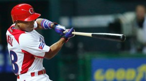 Alexei Bell tuvo una muy buena carrera nacional o internacional en Cuba. (Foto: Getty Images, via MLB.com)