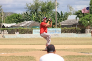 Bill Lee en exclusiva con Universo Béisbol. (Foto: Reynaldo Cruz/ UB)