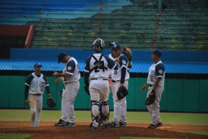 Ganadores de 10 juegos seguidos, los holguineros están en zona de clasificación. (Foto: Reynaldo Cruz/ UB)