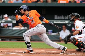 Yulieski Gurriel, con los Houston Astros. (Foto: Evan Habeeb-USA TODAY Sports)